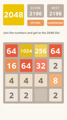 2048 iPhoneアプリ