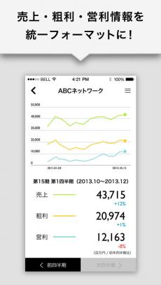 【超便利】決算情報&会社情報を1分でチェック『ポケットIR』 iPhoneアプリ