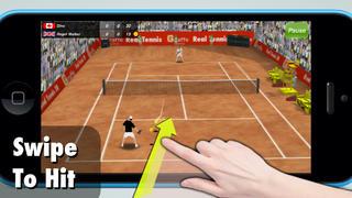 テニスチャンピオン3D iPhoneアプリ