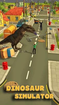 Dinosaur Simulator 3D iPhoneアプリ