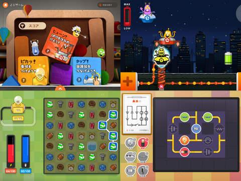 楽しい物理百科: 磁石と電気 iPadアプリ