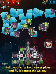 Galaxy Trucker iPadアプリ