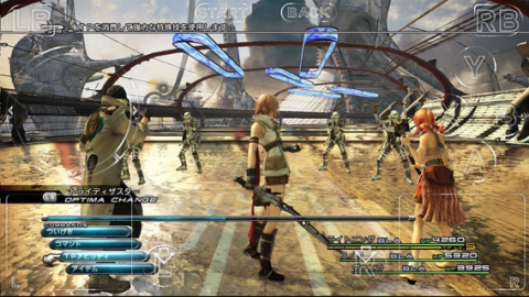 FINAL FANTASY XIII iPhoneアプリ