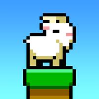 【激ムズ】崖から落とさないようにクリアしていく「ヤギジャンプ」がリリースされ話題に! - iPhoneアプリまとめ