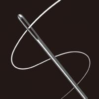 【携帯の人気作】糸をひたすら通していく「新・糸通し」が話題に!