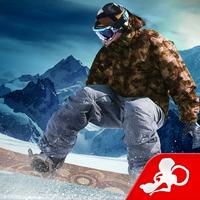 雪山を高速で滑りながらトリックを決めまくる「スノーボードパーティ」が人気に