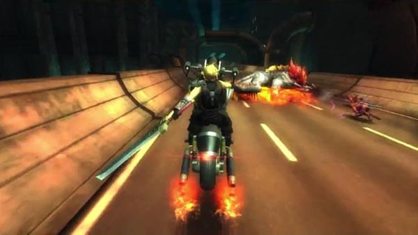 ファイナルファンタジー7 Gバイク スクリーンショット3